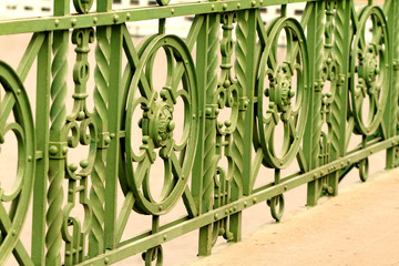 Historic bridge in Budapest