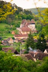 Cpsa Mare Village in transylvania Romania