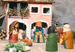 Nativity scene with Holy Family in South American style - 74424563