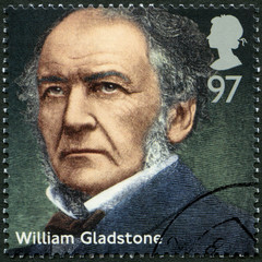 UNITED KINGDOM - 2014: shows William Ewart Gladstone (1809-1898)