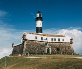 Barra lighthouse in Salvador, Brazil.