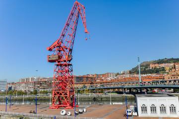 Carola Crane and Bilbao's Maritime Museum, Spain