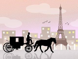 carriage ride in Paris