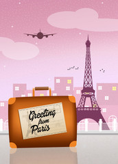 Greeting from Paris