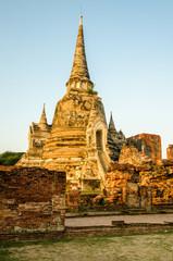 アユタヤ遺跡の仏塔