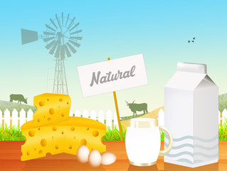 natural dairy product