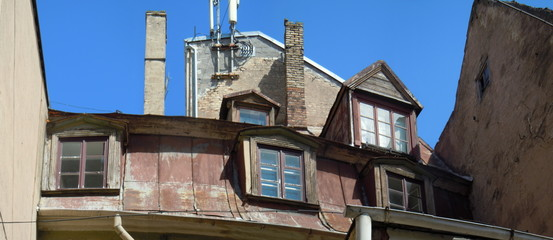 Frencf roof and dormers