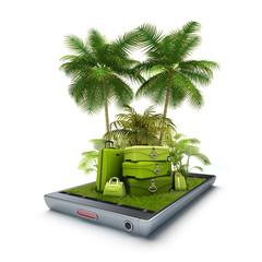 Vacation travel app