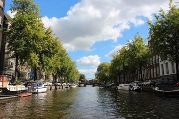 ヨーロッパ オランダ アムステルダムの運河6