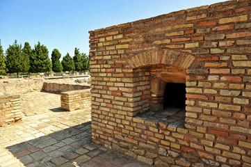 Roman bread oven, Italica, Seville, Spain