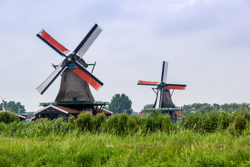 Wind mills in Holland