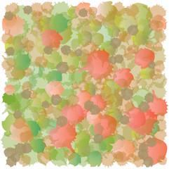 Motif Abstrait Fond Impression Taches Rouge Vert Beige