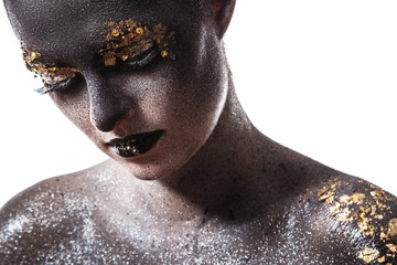Beautiful, artistic makeup