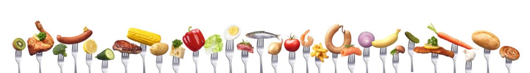 Allerlei Lebensmittel