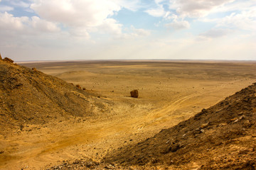 Egitto Deserto Sahara ingresso depressione di Bab el Qattara