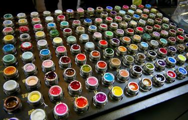 set of lip gloss