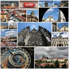 Prague, Czech Republic - photo collage