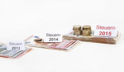 steuererhoehung euroscheine