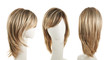 Hair wig over the mannequin head - 74434915