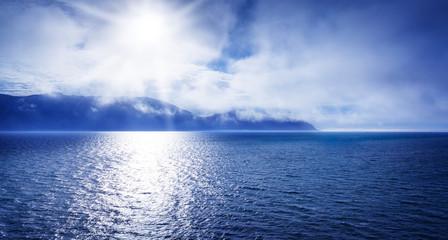 Meer, Ozean, Sonne