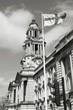 Stockport. Black white photo.