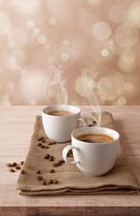 Zwei Kaffee Tassen