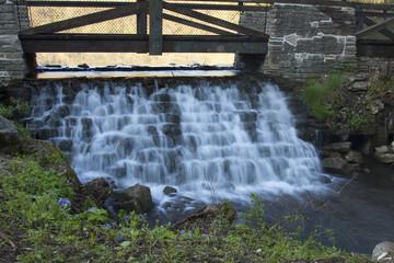 Footbridge & Dam