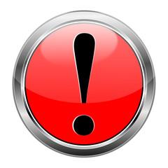 Button rot Ausrufezeichen #141209-svg06