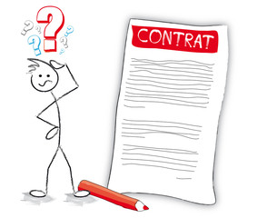personnage contrat