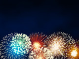 impressive fireworks - 74439962