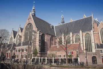 Oude Kerk (church) is Amsterdam oldest building