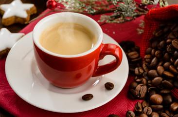 Espresso for Christmas breakfast