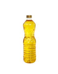 A bottle of Palm kernel Cooking Oil, isolated on white backgroun