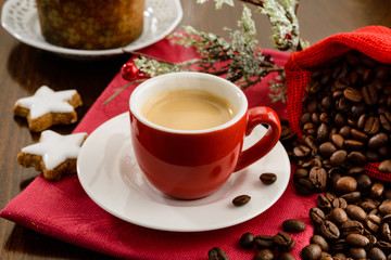 Espresso for Christmas breakfast