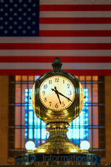 Grand Central Clock, New York