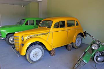 "Retro car model ""Moskvich"""