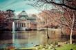 Crystal Palace in Retiro Park,Madrid, Spain. - 74442569