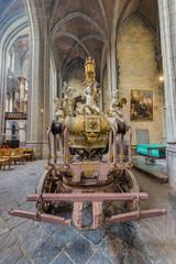 Ducasse de Mons or Doudou in Mons, Belgium.