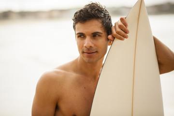 Young Italian surfer portrait
