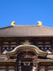 Todaiji temple in Nara city, Japan