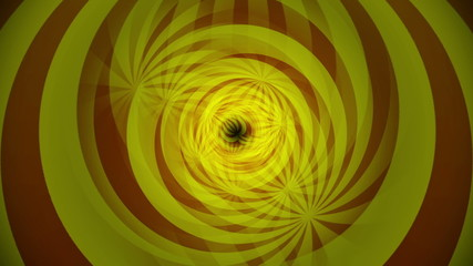 Abstract Sunburst Tunnel Background