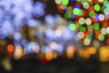 Holidays Lights Background