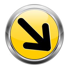 Button Pfeil gelb  #141209-svg31