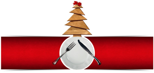 Christmas Restaurant Menu Banner
