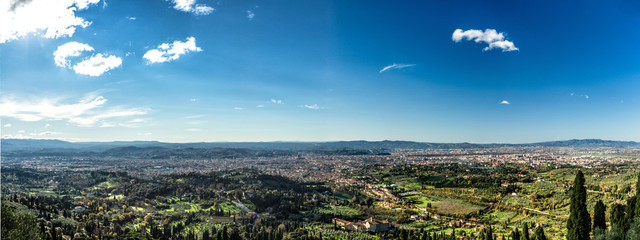 Amazing view of Firenze from Fiesole