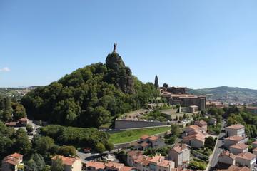 statua sulla collina