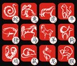 Chinese zodiac signs - 74445148