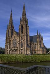 Der Münster in Straßburg, Frankreich