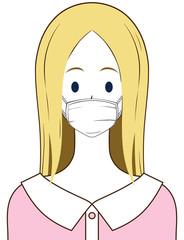 女性 マスク