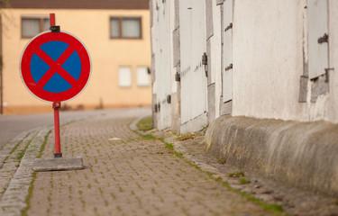 Parkverbot in Schnait